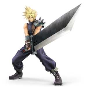 Cloud and the Buster Sword